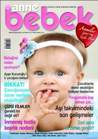 Anne Bebek Dergisi Mayıs 2012 / Sayı 137