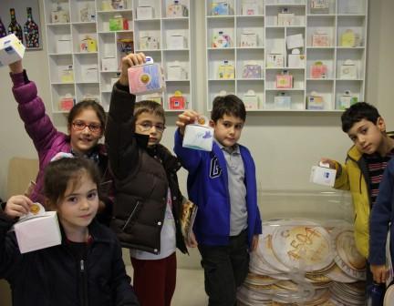 Çocuklar İş Bankası Müzesi'nde