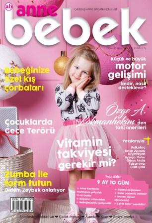 Anne Bebek Dergisi Ocak 2018 / Sayı 205