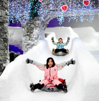 Torium Snowpark'ta Kayak Keyfi!