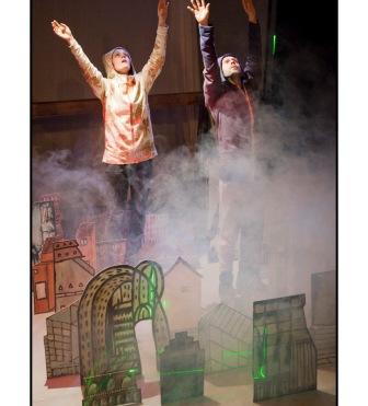 Talimhane Tiyatrosu'nda Hollanda Çocuk Tiyatrosu Festivali