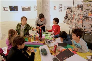 Mixer'den çocuklar için Yarıyıl Sanat Atölyeleri