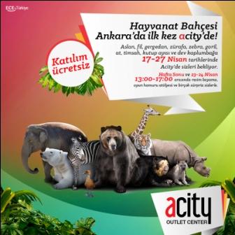 Mekanik Hayvanlar Sergisi Ankara'da ACity'de