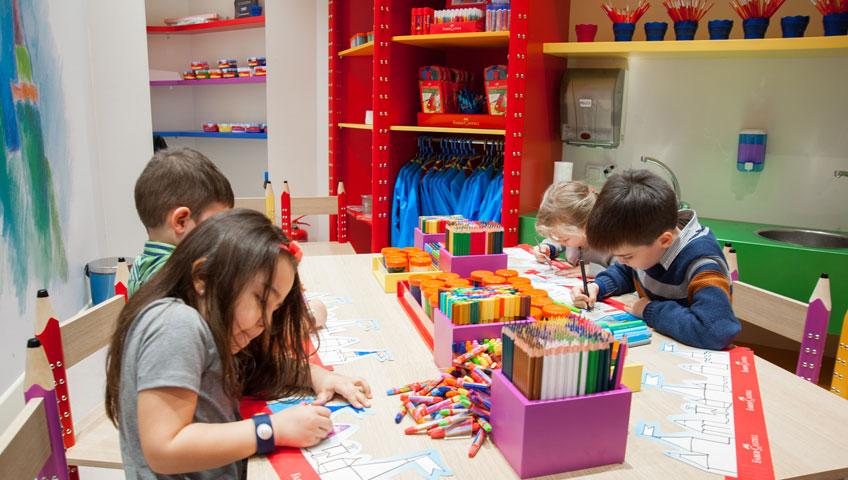 Faber-Castell Çocukların Yaratıcılıklarını Geliştiriyor