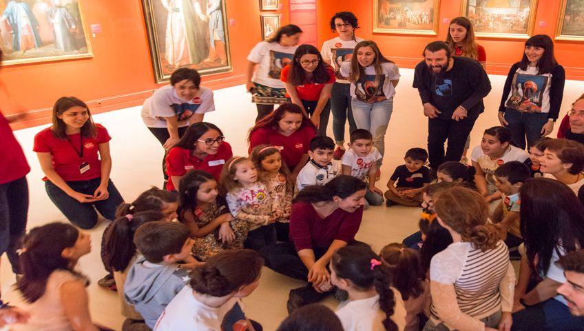Çocuklara 'Sınırsız Sanat'