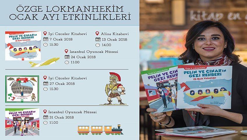 Özge Lokmanhekim ile Okuma ve Seyahat Atölyesi