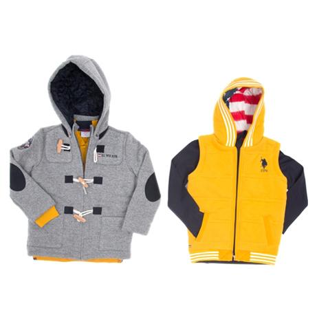 Özel Tasarım Sweatshirtler - U.S.Polo - Anne Bebek Modası