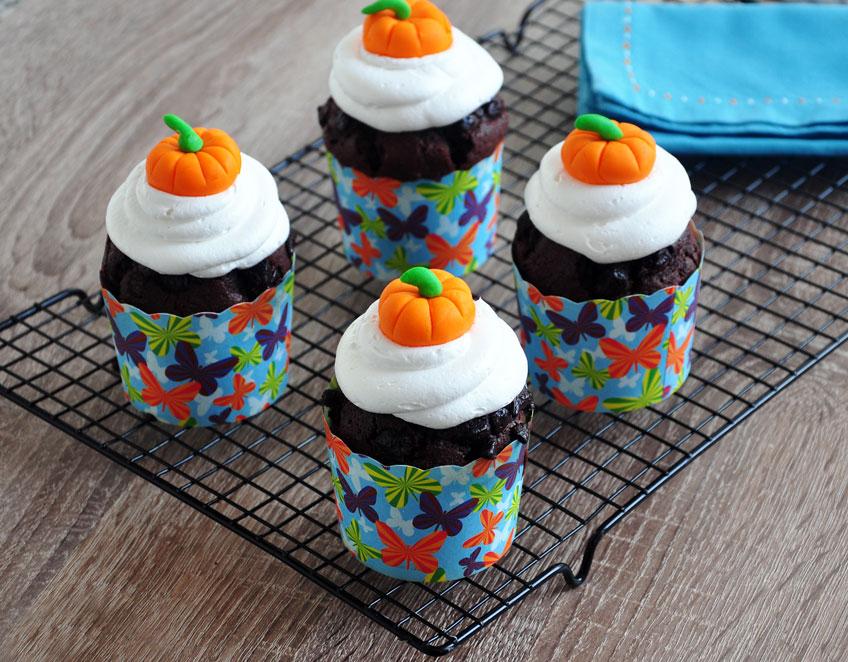 Balkabaklı Çikolatalı Muffin