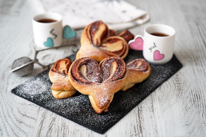 Kalp Çörek - Tatlılar - Anne Bebek Dergisi
