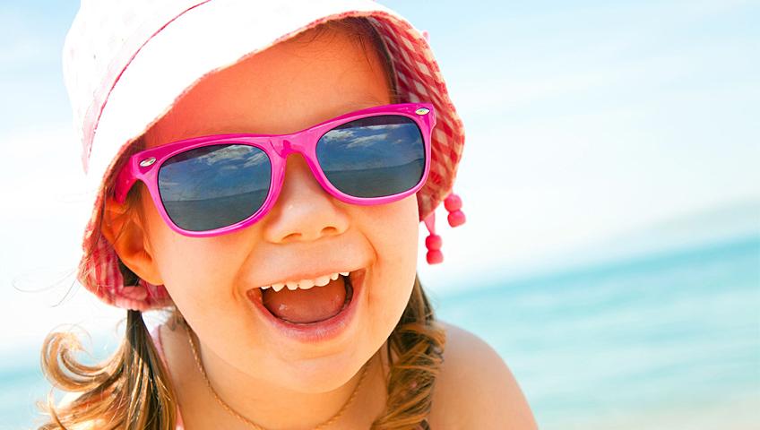 Çocuklarda Güneş Gözlüğü Seçerken...