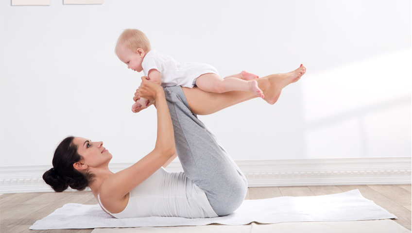 Anne Adayları İçin Pilates