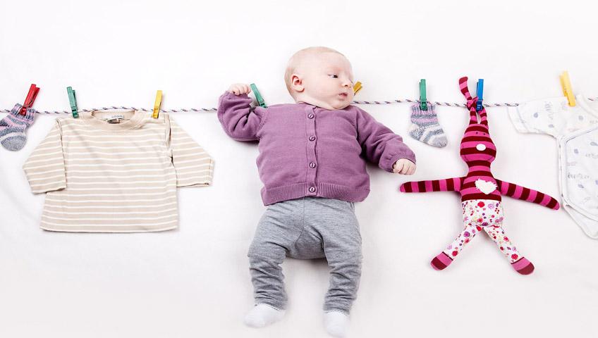 Bebek Giysilerini Nasıl Yıkamalı?