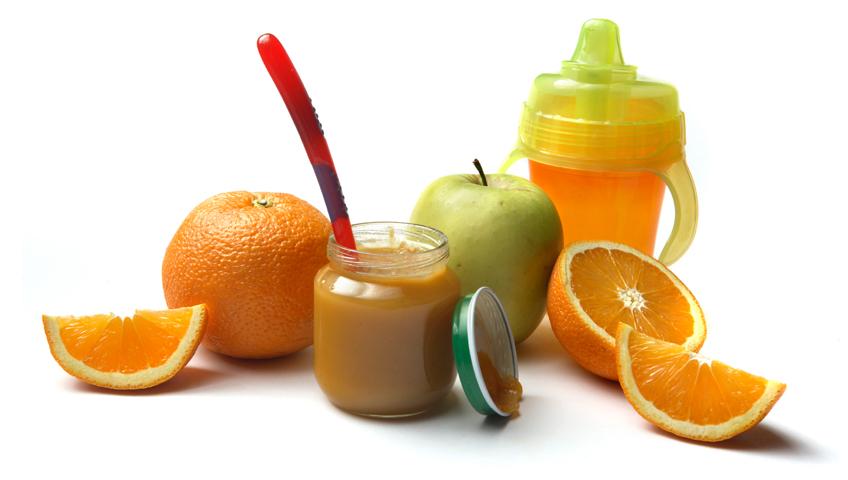 Bebeklere Hangi Meyve Suları İçirilmeli?